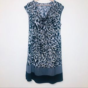 Liz Lange Leopard Print Maternity Dress